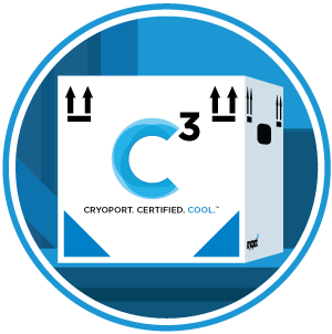 Cryoport C3 Shipper