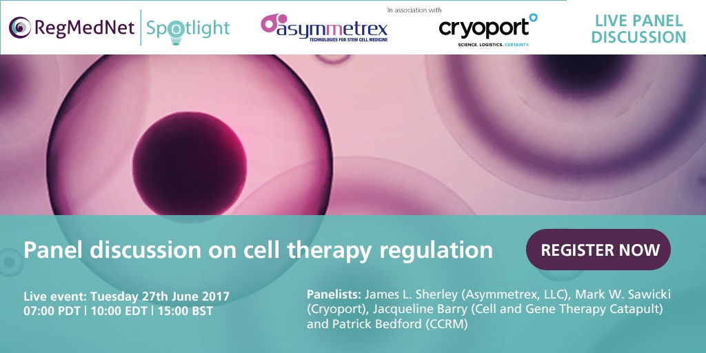 cell therapy regulation panel discussion regmednet