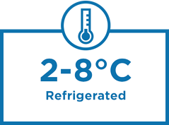 2–8°C Refrigerated